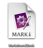 Markdown2Book Icon
